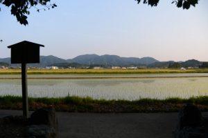 朽羅神社(皇大神宮 摂社)からの風景
