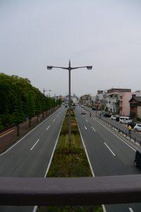 県道37号(月夜見宮付近)