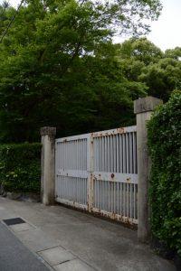 月夜見宮(豊受大神宮 別宮)、東側の門