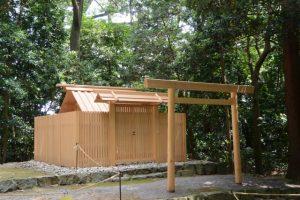 朽羅神社(皇大神宮 摂社)の仮殿