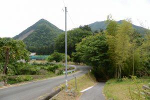 多岐原神社(皇大神宮 摂社)への坂道