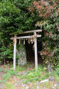 「瀧原宮周辺の神々」③山の神、潮石