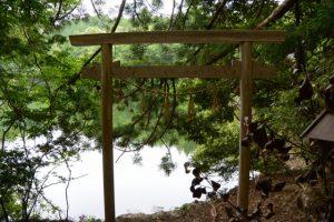 「瀧原宮周辺の神々」④弁財天が望む榎木谷池
