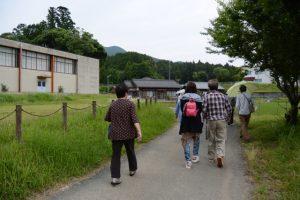 熊野古道伊勢路勉強会、座学後の周辺散策