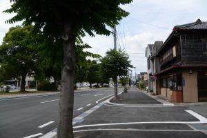 県道37号 浦口交差点からJR山田上口駅方向へ