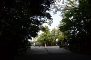 北御門口の火除橋(外宮)