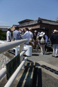 南新橋付近(河崎環濠痕跡巡りツアー)