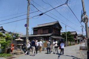 庚申堂付近(河崎本通り)