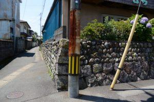 瓦屋跡の石垣