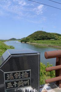 堀割橋(五十鈴川)からの眺め