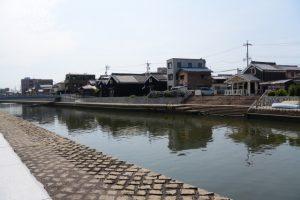 川の駅 河崎(勢田川)付近