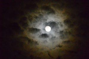 ブラタモリ伊勢リターンズの二次会を終えて見上げた空