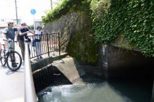 清川と豊川の合流地点