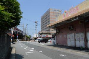 山田奉行公事屋敷跡(ぎゅーとらエディース八間通店)
