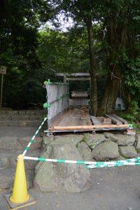津長神社(皇大神宮 摂社)の大修繕準備