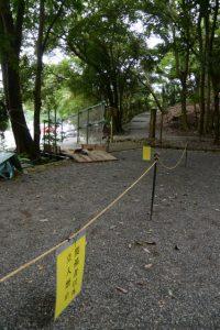 饗土橋姫神社(皇大神宮 所管社)前から大水神社(同摂社)へ