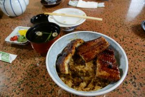 うな丼(う御料理旅館 中六)