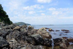 潜島付近(神前海岸)
