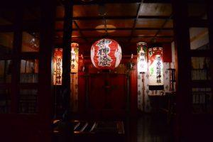 並社の仮殿となっている須原稲荷神社(須原大社)