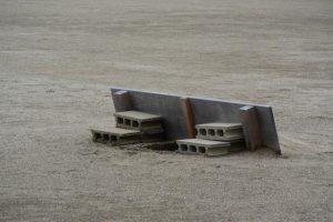 まもなく採鹹作業が開始される御塩浜