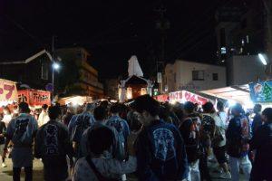 青年神輿渡御(河崎天王祭イベント)