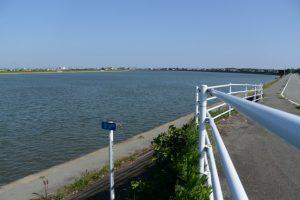 河川距離標 3.0km(五十鈴川)