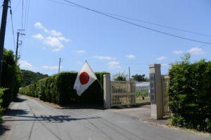神宮御園入口付近