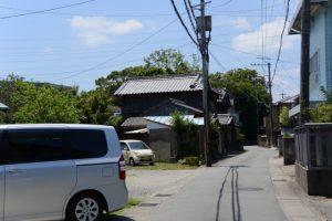 御塩道(橘神社付近)