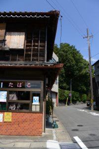 草奈伎神社(豊受大神宮 摂社)付近
