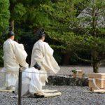 四至神での風日祈祭(外宮)