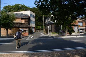 有限会社丸天林業付近から御間の社(草奈伎神社、大間国生神社)へ