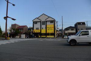 以前は黄河だったとん亭本店(県道37号沿い)