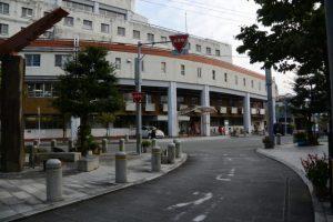 伊勢慶友病院付近