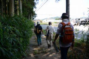 山崎の大岩〜湧き水