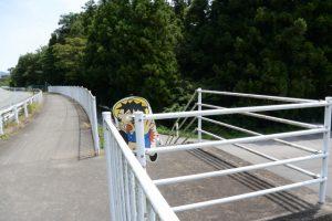 度会町棚橋水源地付近で県道38号から離れる