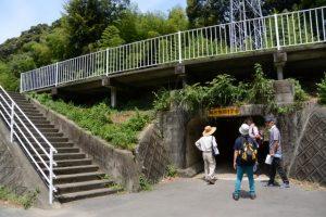 県道38号のトンネル(度会町棚橋水源地付近)