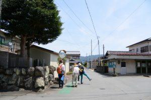 踊り場(大悲山 法光寺〜薬師堂跡付近)