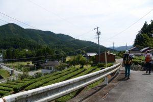 旧道(少林山 安心寺〜五里山橋)