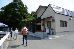最近人気があるパン屋さん、五里山橋付近