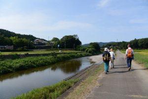 五輪堂〜飛瀬浦橋(一之瀬川)