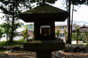 旧大野木神社(度会町大野木)