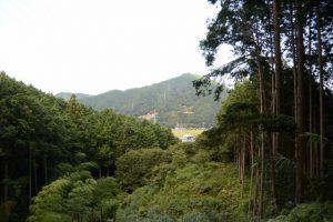 仲峯山福信院から史跡へ(松阪市飯南町粥見)