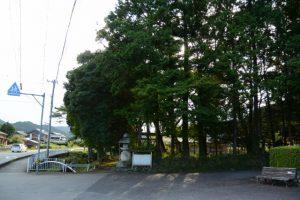 五箇谷神社(多気郡多気町朝柄)