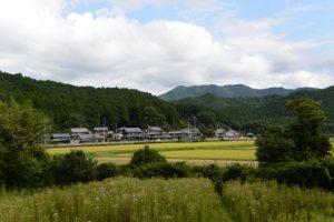 南中村公民館〜実観院跡の途中の風景
