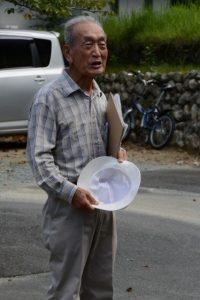 度会町地域資源を守る会・会長 橋本丈男さん(宮川流域案内人)