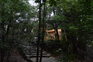 大修繕を終えた津長神社(皇大神宮 摂社)