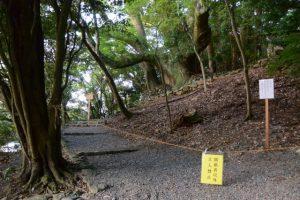 大水神社(皇大神宮 摂社)への参道