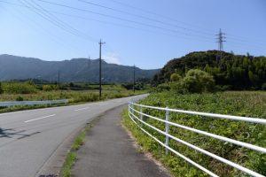 堀割橋(五十鈴川)から伊勢二見鳥羽ライン方向へ