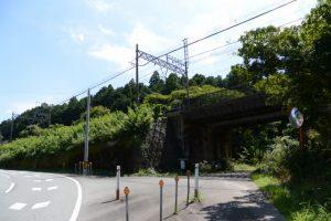 伊勢フライトパークへの入口付近(県道37号)