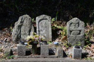 路傍の墓石(鳥羽市鳥羽)